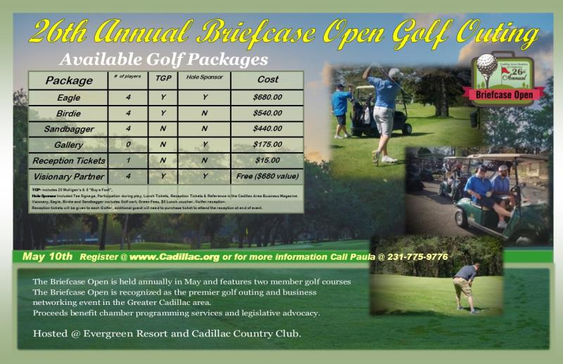 26th Annual Briefcase Open Golf Outing